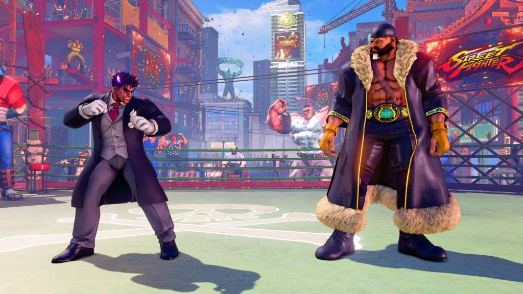 Костюмы из дополнения Capcom Pro Tour, режима Fighting Chance и партнёрские костюмы не включены