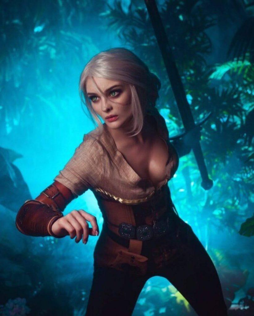 Абсолютно совершенный косплей Цири из The Witcher 3: Wild Hunt