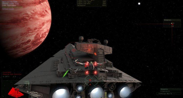 Трейлер геймплея симулятора космических боев от первого лица — Star Wars Fate of the Galaxy