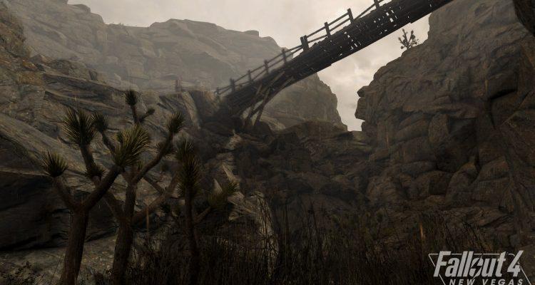 В сети появились скриншоты мода полной конверсии для Fallout: New Vegas