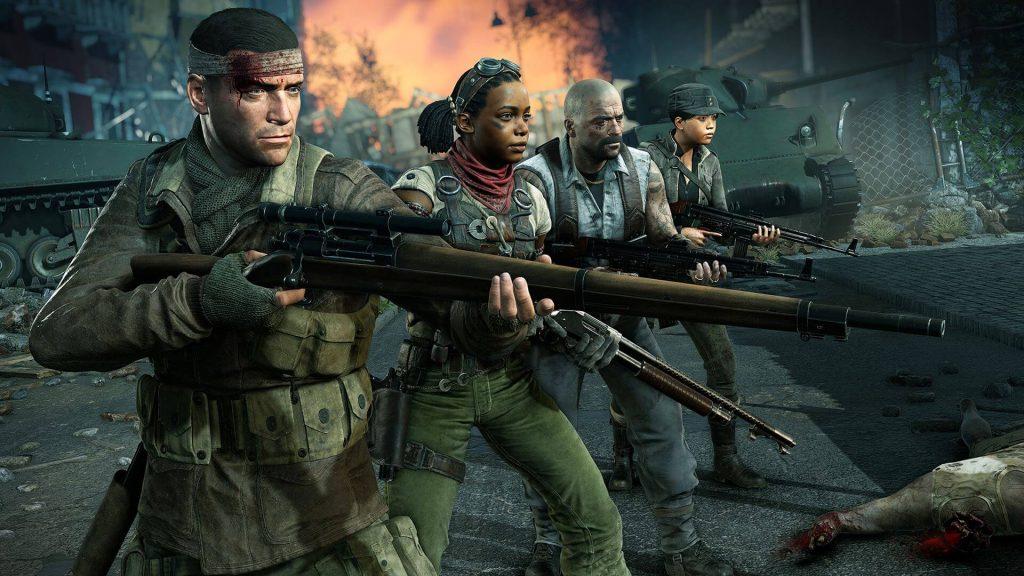 Четыре игровых персонажа