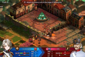 Анимешная RPG - стратегия о Великой французской революции Banner of the Maid