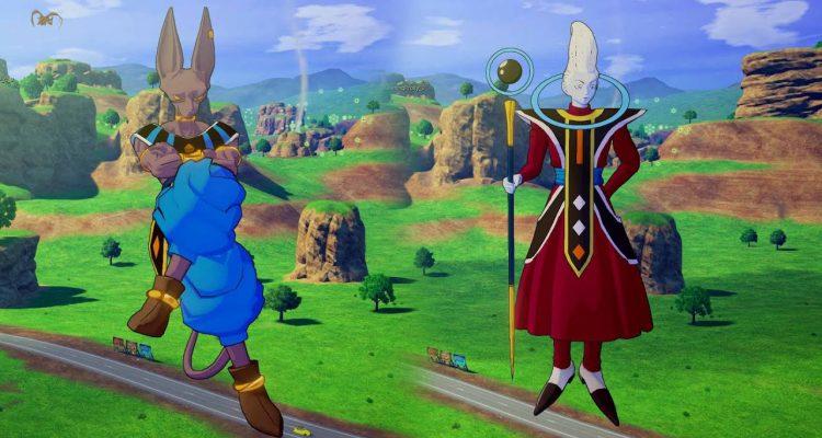 Теперь вы можете играть за персонажей Beerus и Whis в Dragon Ball Z: Kakarot