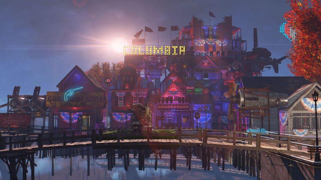 Моды для Fallout 4 — Колумбия из BioShock Infinite