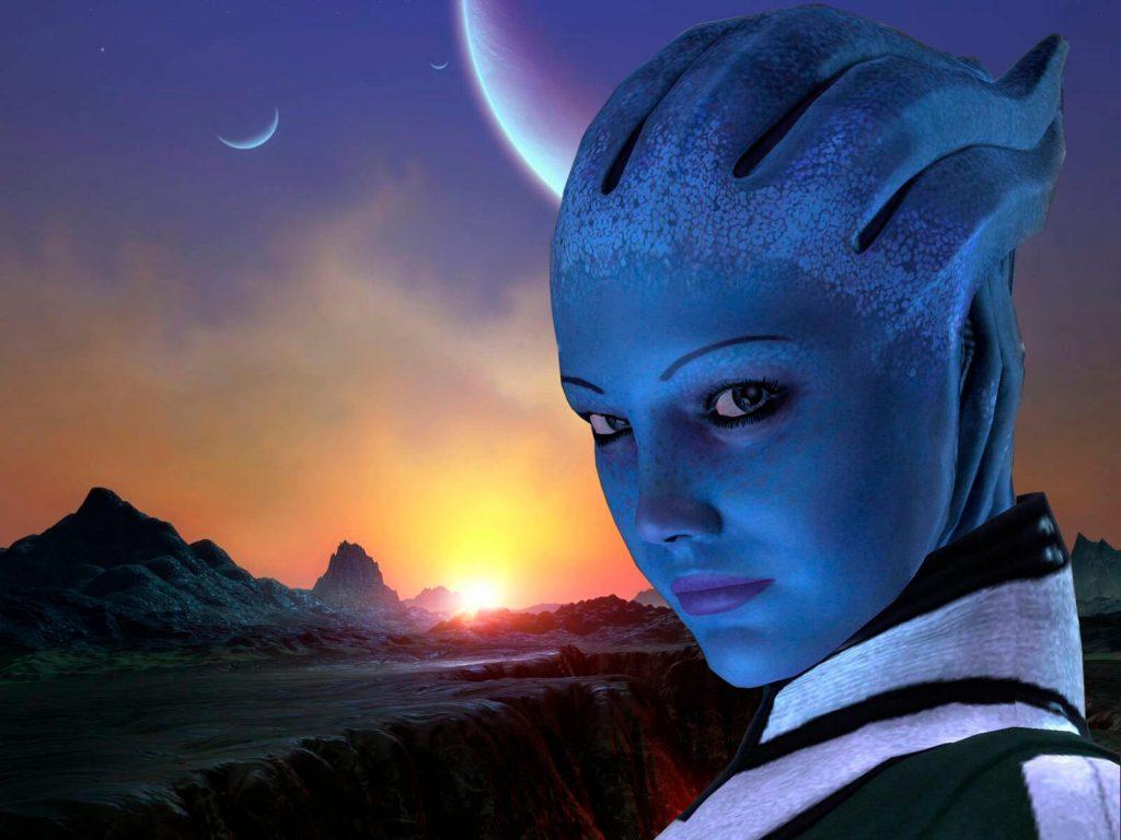 Лиара Т'Сони (Mass Effect)