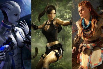 Самые горячие женские персонажи