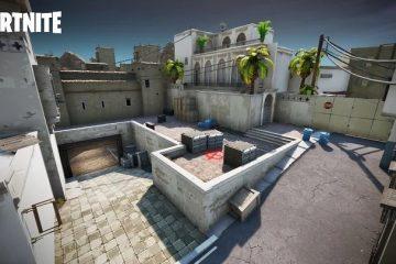 Карта Dust 2 из CS: GO теперь доступна в Fortnite