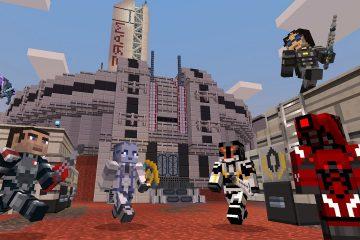 Mass Effect в Minecraft - официальное дополнение с героями серии BioWare