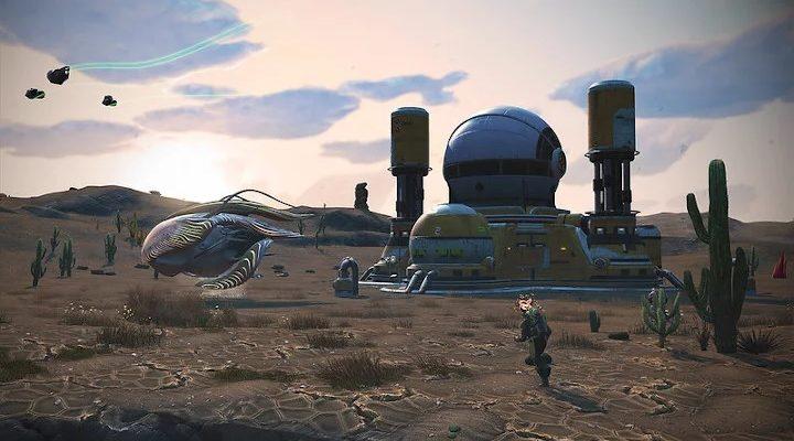 No Man's Sky получил обновление с органическими кораблями