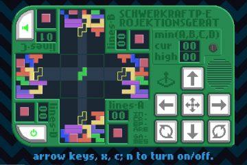 Четыре Тетриса разом в одной головоломке с непроизносимым названием