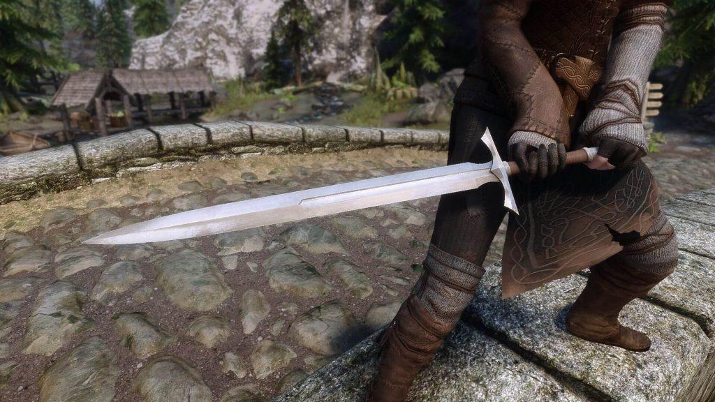 Мод добавляет свыше 100 высококачественных и сбалансированных видов оружия в Skyrim