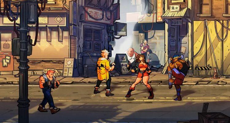 Streets of Rage 4 - демонстрация графического стиля игры