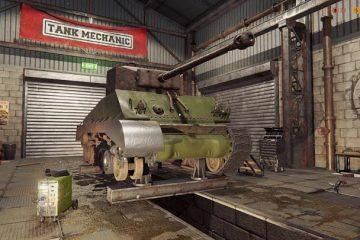 Tank Mechanic Simulator - объявлена дата выхода
