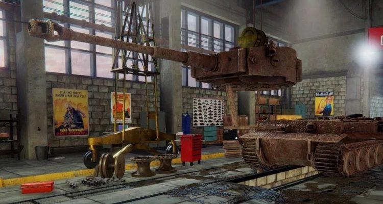 Tank Mechanic Simulator выходит в релиз