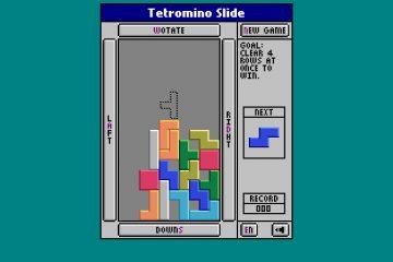 Головоломка Tetromino Slide хитро перемешалась с Тетрисом