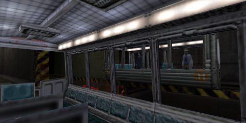 Вступительная поездка на вагонетке в Half-Life