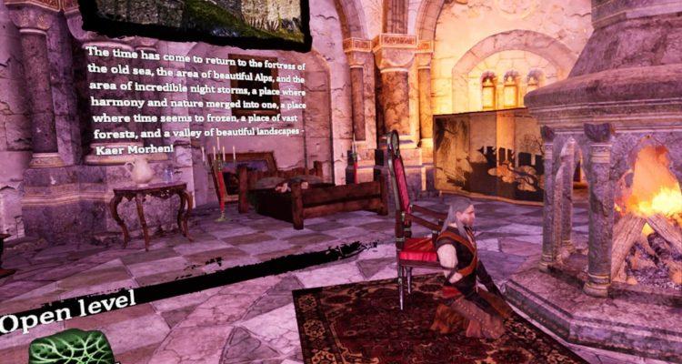 Теперь можно исследовать Каэр Морхен в виртуальной реальности