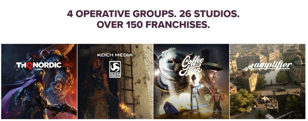 THQ Nordic имеет 96 игр в разработке