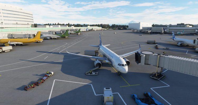 Все аэропорты мира в Microsoft Flight Simulator