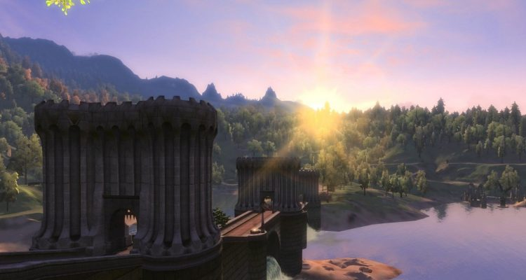 Вышла объёмная модификация Oblivion Remastered