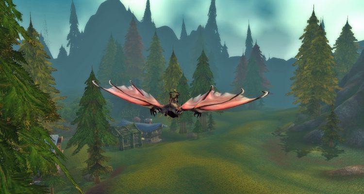 Пересеките World of Warcraft по воздуху