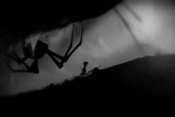 Победа над пауком в Limbo
