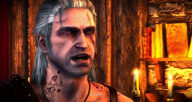 Полученная в Ведьмаке 2 татуировка сохраняется в Ведьмаке 3