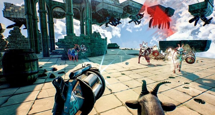 Goat of Duty доступна бесплатно в Steam