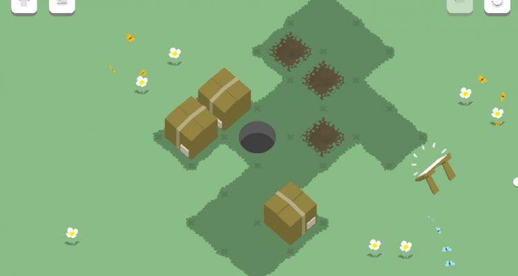 Исследуйте новый «дырявый» мир в головоломке Hole and Box