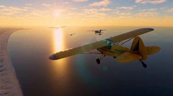 Microsoft Flight Simulator - представлен многопользовательский геймплей