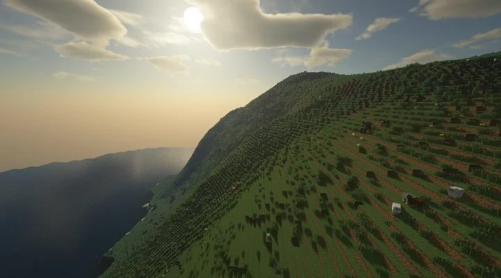 Поклонник Minecraft воссоздал Землю в масштабе 1:1