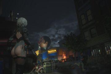 Мод NieR Automata 2B для Resident Evil 3