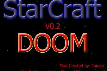 Юниты StarCraft вместо монстров в Doom