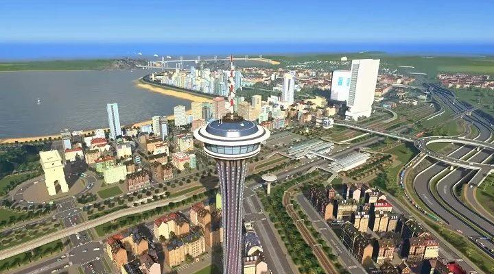 Sunset Harbor станет новым дополнением для Cities: Skylines