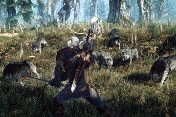 В этом моде для Ведьмака 3 волки дерутся на стороне Геральта