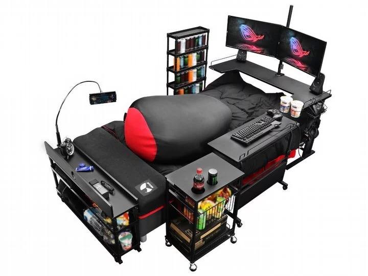 В Японии спроектирована первая игровая кровать