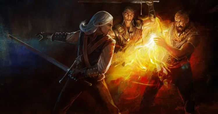 Беренгар должен был стать главным героем первого Ведьмака