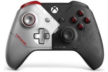 Cyberpunk 2077 вдохновил дизайнеров Xbox One на создание оригинального внешнего вида контроллера