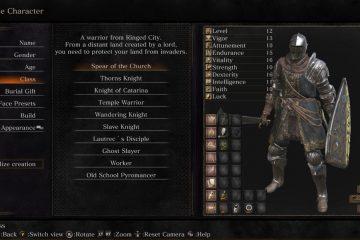 Мод, добавляющий 10 новых классов в Dark Souls 3