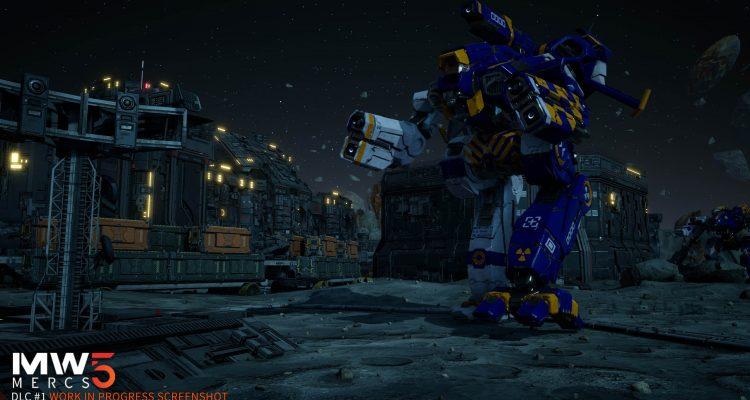 DLC для MechWarrior 5 выйдет с задержкой, но будет расширено