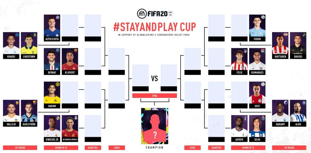 FIFA 20 - звёзды «Реала», «Ливерпуля» и других команд сразятся в благотворительном турнире