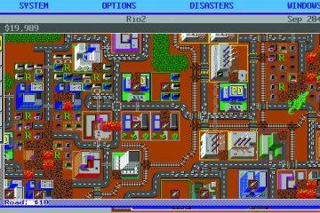 Нападение Годзиллы на SimCity