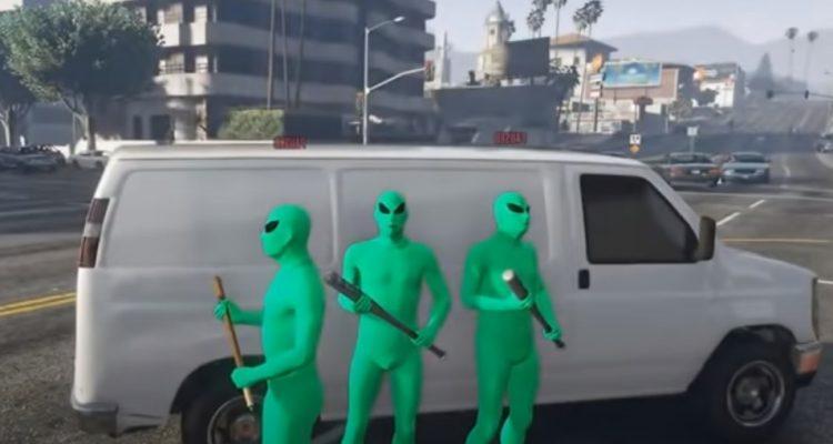 Инопланетная банда терроризирует игроков в GTA Online