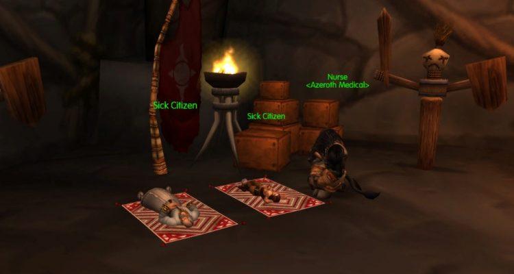 Эпидемия чумы в World of Warcraft - эксперимент на частном сервере