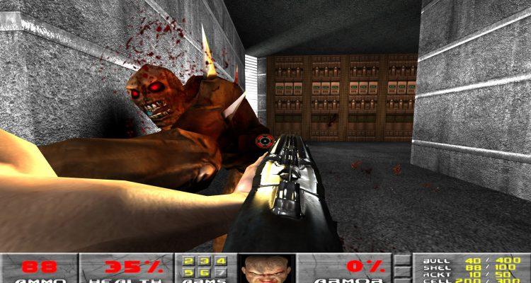 Попробуйте 46 минут оригинального Doom, запущенного на движке id Tech 4