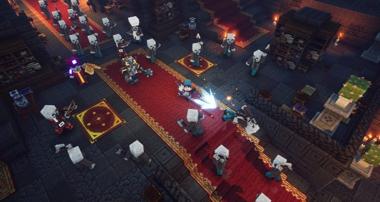 Релиз Minecraft Dungeons перенесён на май