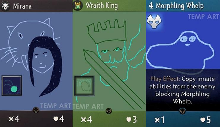 Valve представила концепт-арты перезапуска Artifact