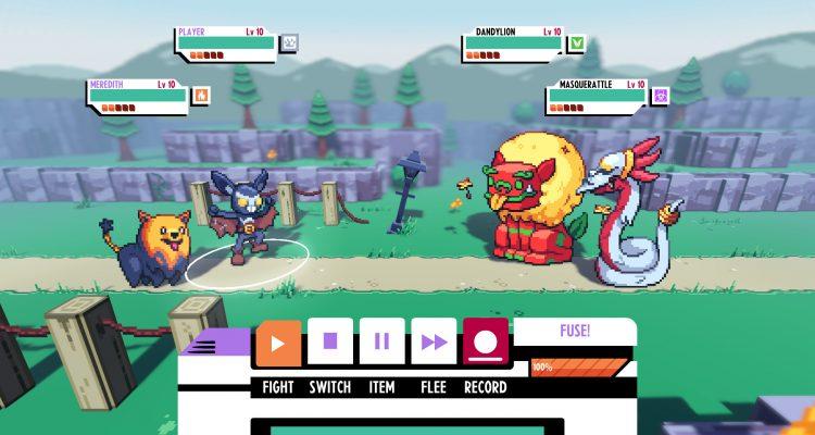 Cassette Beasts - новая игра в жанре RPG, напоминающая Pokemon Fusion, от бывших разработчиков из Chucklefish