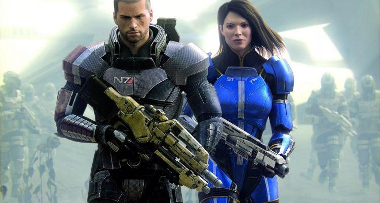 EA работает над обновлением трилогии Mass Effect