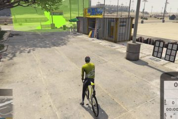 GTA V совместили с велотренажером